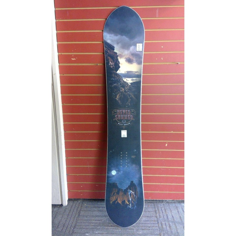 2019/20 Used Never Summer West Bound Snowboard, 160 cm